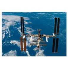 International Space Station Canvas Art