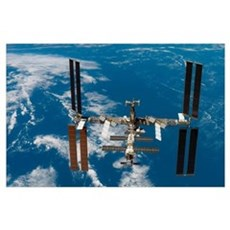 International Space Station Poster