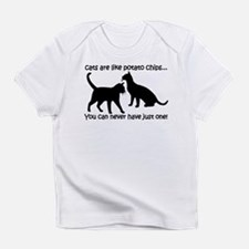"""Cats are like potato chips.. Infant T-Shirt"