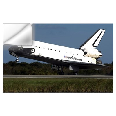 Space Shuttle Endeavour Wall Decal