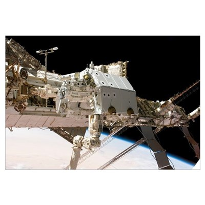 The Canadianbuilt Dextre robotic system in the gra Canvas Art