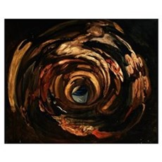 Anamorphosis of Rubens (oil on canvas) Poster