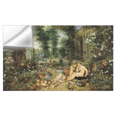 The Sense of Smell (oil on canvas) Wall Decal