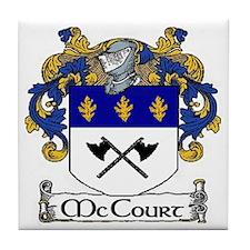 McCourt Coat of Arms Tile Coaster