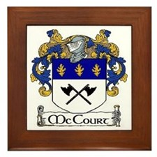 McCourt Coat of Arms Framed Tile