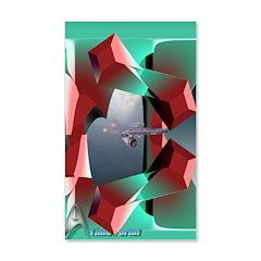 """Time Portal"" 38.5 x 24.5 Wall Peel"
