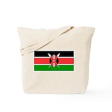 Kenya Kenyan Blank Flag Tote Bag