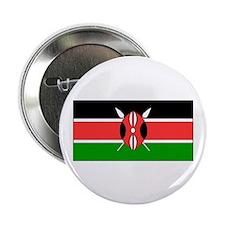 """Kenya Kenyan Blank Flag 2.25"""" Button (10 pack)"""