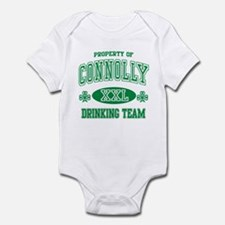 Connolly Irish Drinking Team Infant Bodysuit