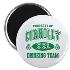 Connolly Irish Drinking Team Magnet