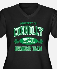 Connolly Irish Drinking Team Women's Plus Size V-N