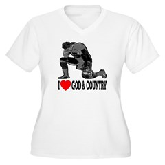 I Love God & Country T-Shirt