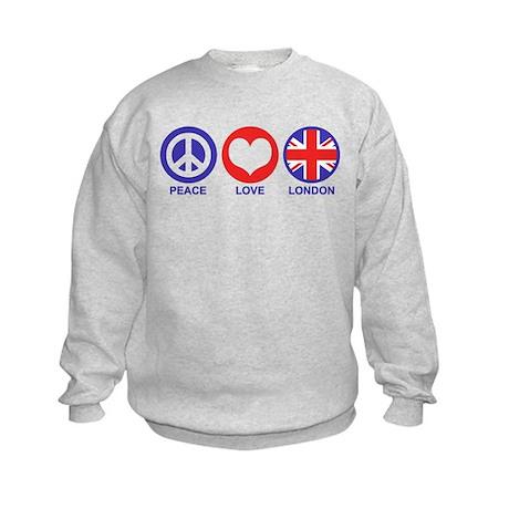 Peace Love London Kids Sweatshirt