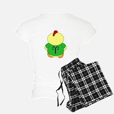 Aries Cartoon Chicken Pajamas
