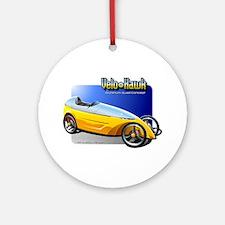 Velomobile Concept Ornament (Round)