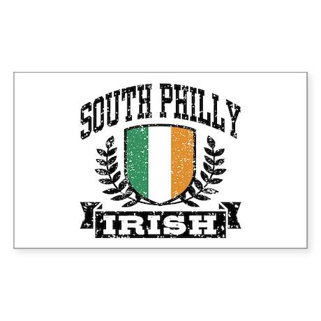 South Philly Irish Sticker (Rectangle)