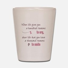 Thousand Reasons to Smile Shot Glass