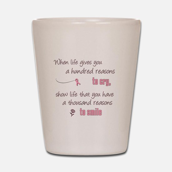 Thousand Reasons to Smile Shot Glass