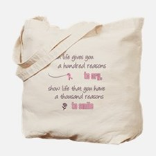Thousand Reasons to Smile Tote Bag