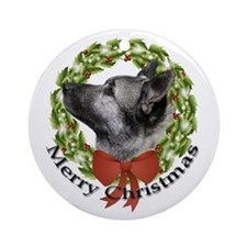 Elkhound Ornament