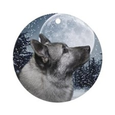 Norwegian Elkhound Ornament
