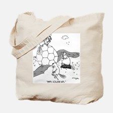 Beavers Build a Geodesic Dome Tote Bag