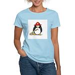 Fireman penguin Women's Pink T-Shirt