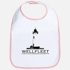 """Wellfleet MA """"Lighthouse"""" Design. Bib"""