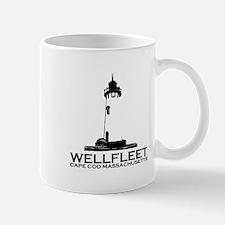 "Wellfleet MA ""Lighthouse"" Design. Mug"