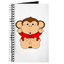 Taurus Cartoon Monkey Journal
