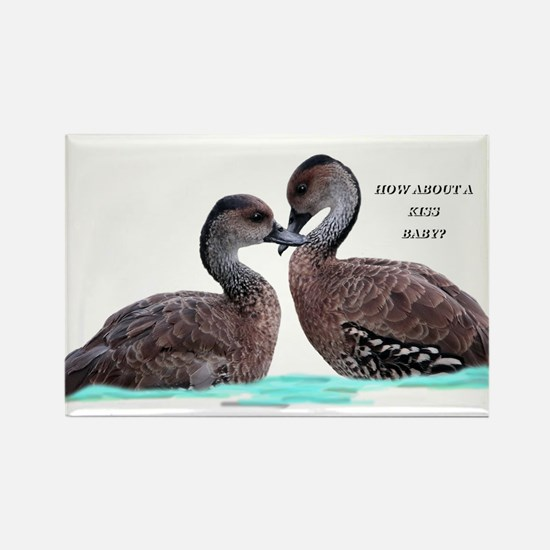 Ducks in Love Magnets