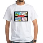 Toons by Butch Berry White T-Shirt
