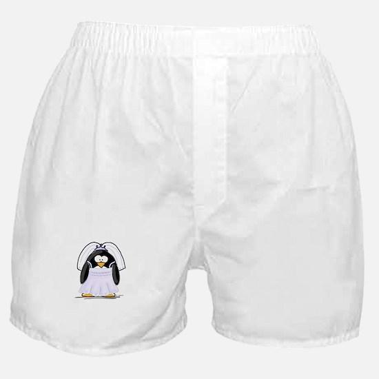 Fancy Bride penguin Boxer Shorts