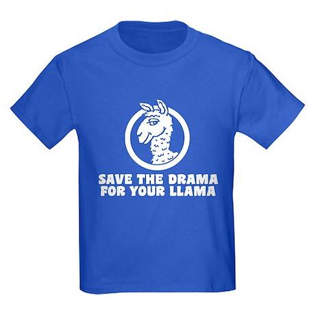 Drama Llama Kids Dark T-Shirt