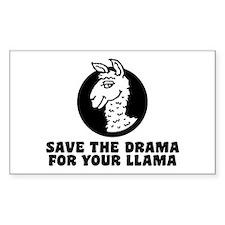Drama Llama Decal