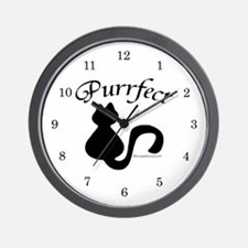 Purrfect Wall Clock