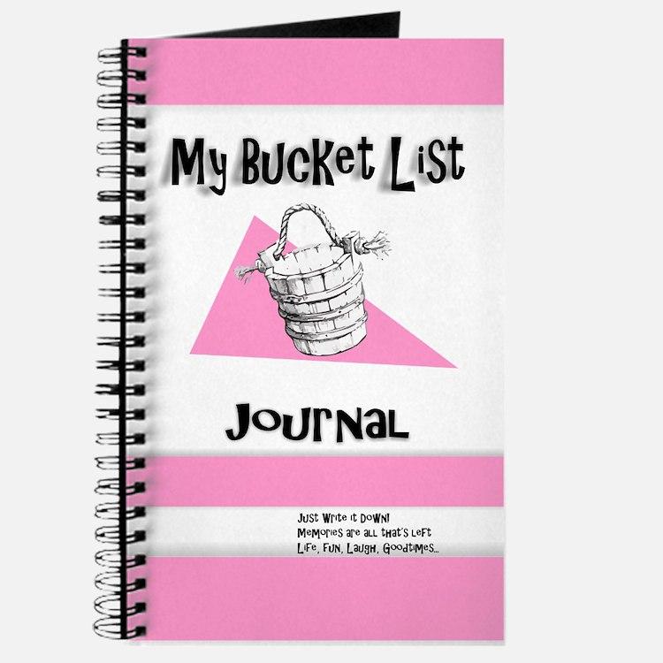 Ladies Bucket List Journal