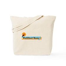 "Wellfleet MA ""Beach"" Design. Tote Bag"