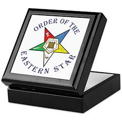 OES Lettered Keepsake Box