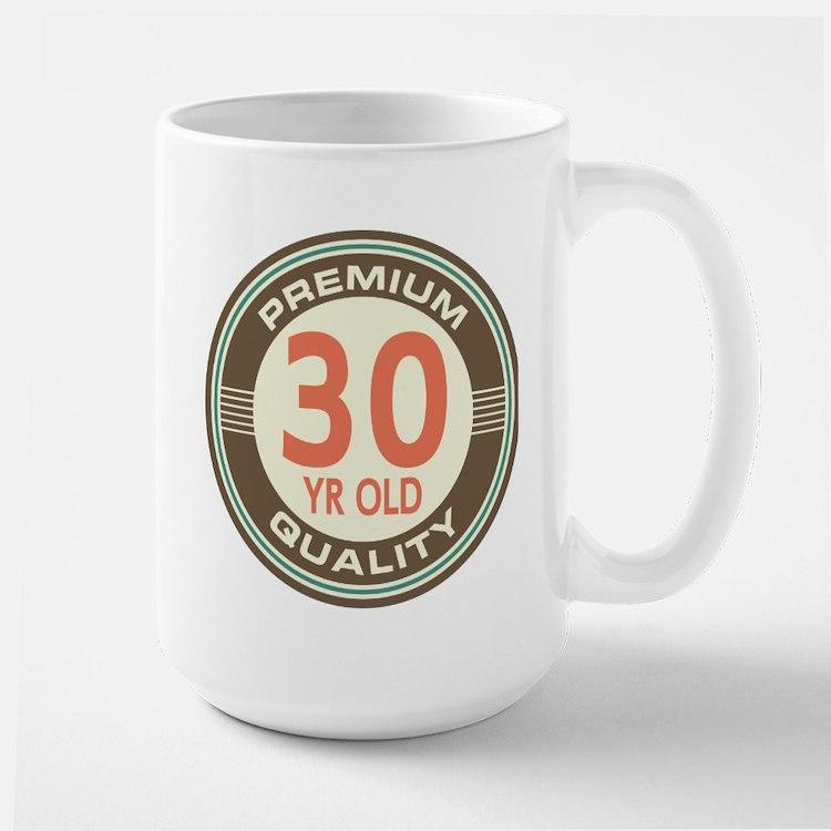 30th Birthday Vintage Mugs