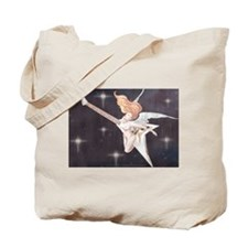 Rock Angel Flying V Tote Bag
