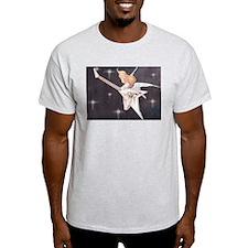 Rock Angel Flying V Ash Grey T-Shirt