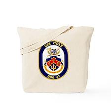 USS Cole DDG 67 Tote Bag
