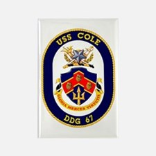 USS Cole DDG 67 Rectangle Magnet