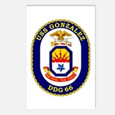 USS Gonzalez DDG 66 Postcards (Package of 8)