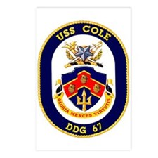 USS Cole DDG 67 Postcards (Package of 8)