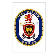 USS Milius DDG 69 Postcards (Package of 8)
