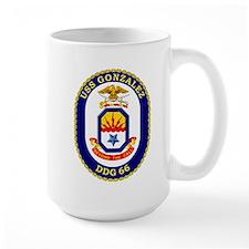 USS Gonzalez DDG 66 Mug