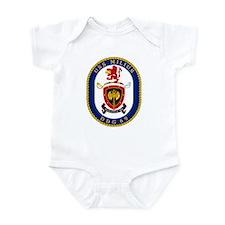 USS Milius DDG 69 Infant Creeper