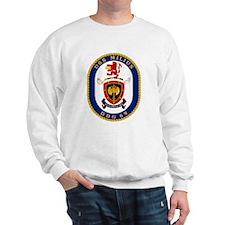 USS Milius DDG 69 Sweatshirt